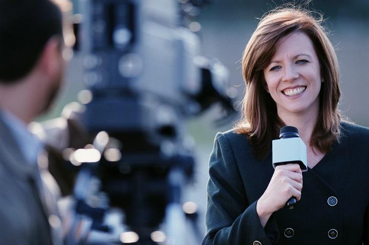 Journalism-presenter