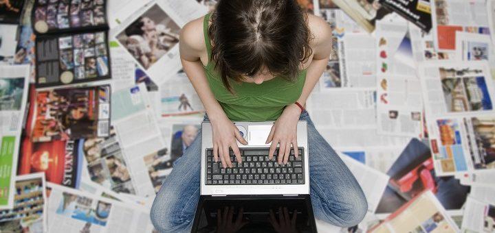 Journalism-typing