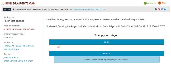 Junior-Draughtsman