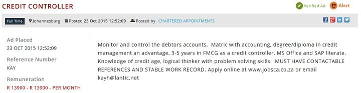 Credit-Controller