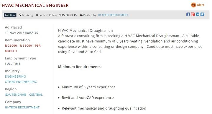hvac-mechanical-engineer-vacancy