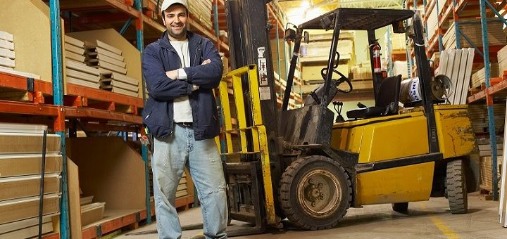 working-as-a-forklift-driver