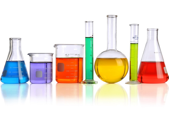 beakers-with-chemicals