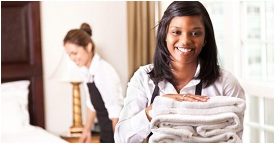 Hotel Worker Working 2