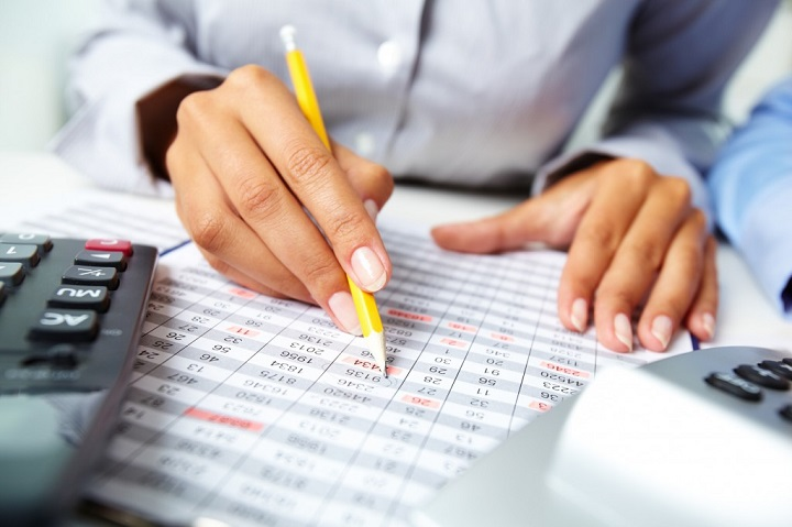 working as a bookkeeper