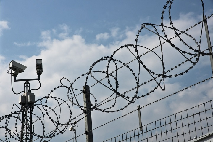 security equipment and fence