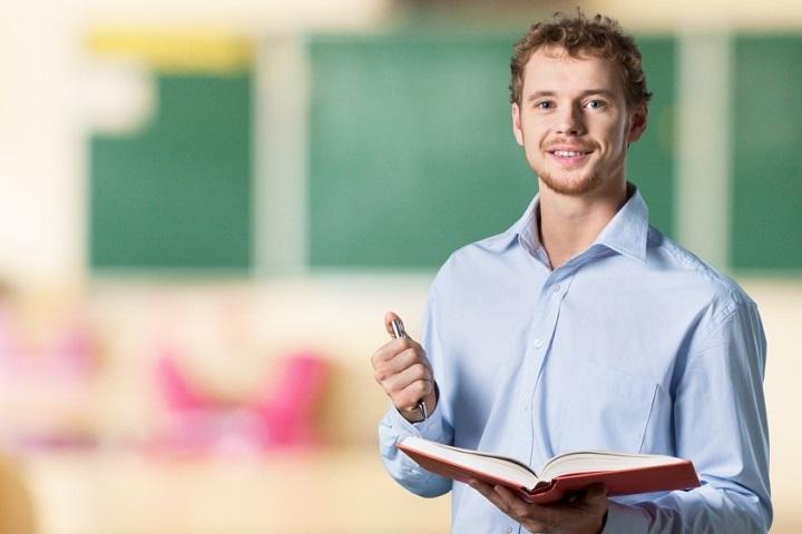 working as an english teacher