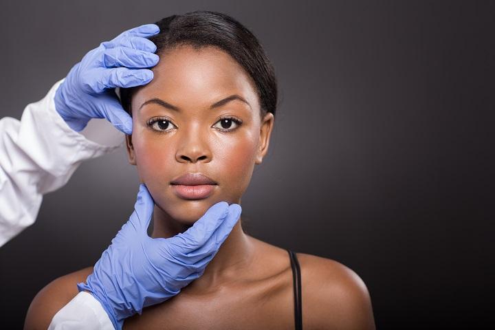skin specialist at work