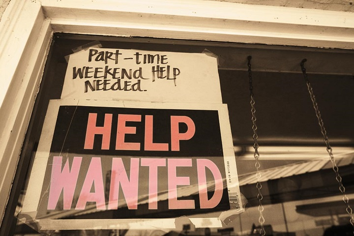 part time and weekend jobs