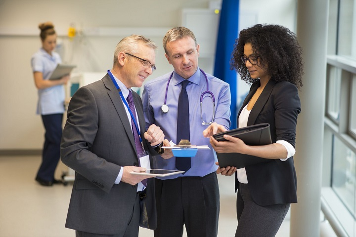 sales rep in the medical field