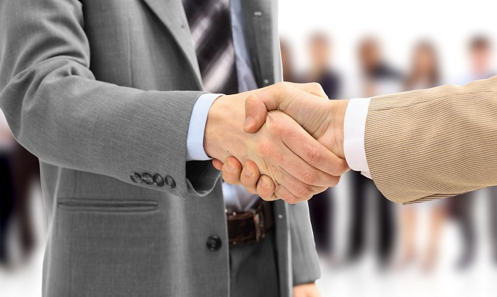 an agreement with a broker