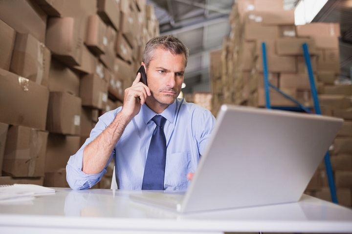 working warehouse manager