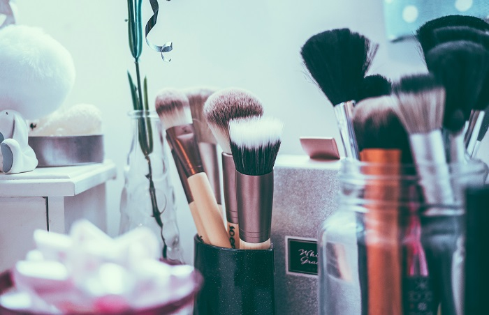 working station of a beauty therapist