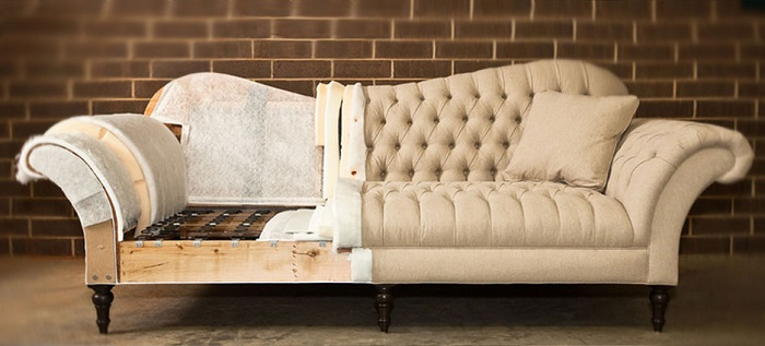 furniture upholstery process