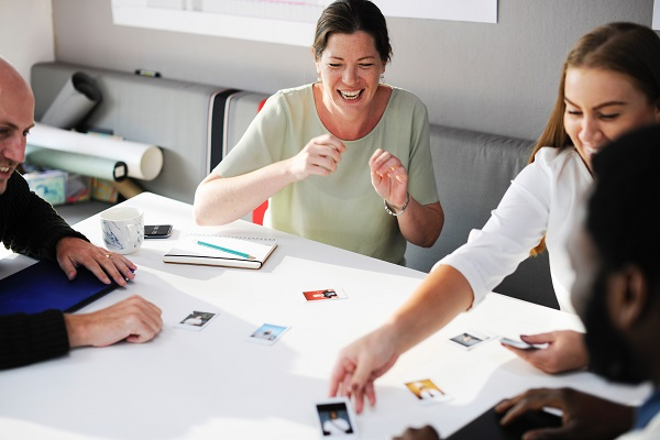 Positive workplace / experience, optimist, Bring the team together, Productiveness