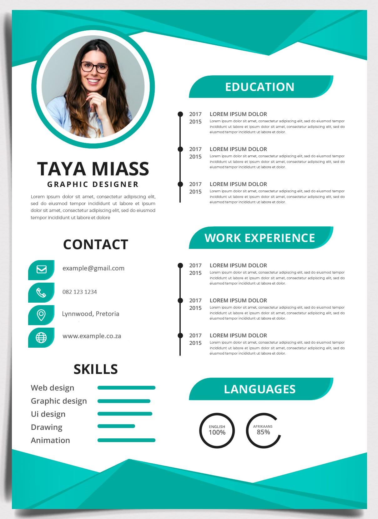 CV Design Example | Job Mail