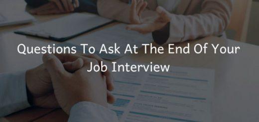Job Interview Questions Your Should Ask | Job Mail