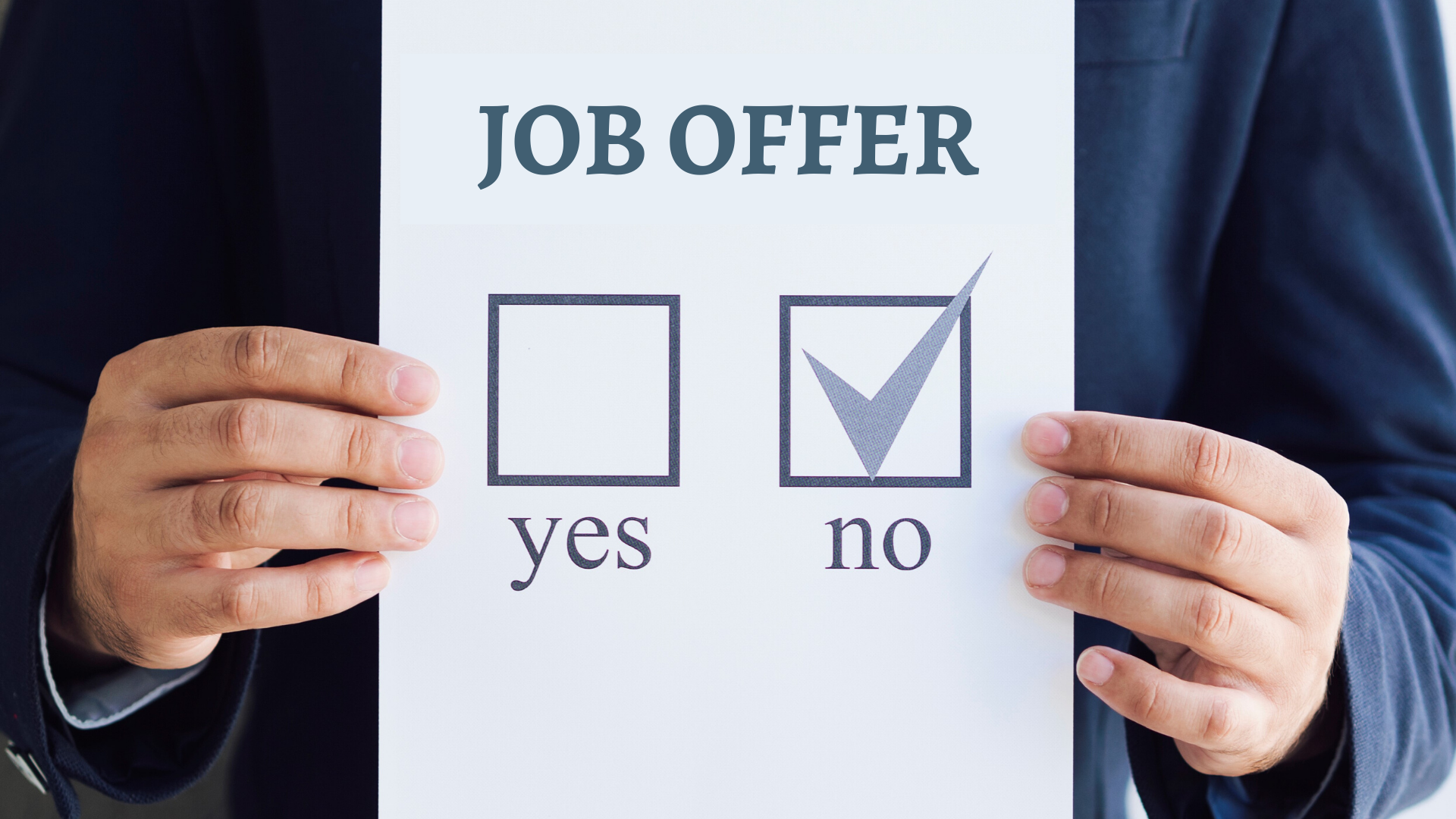How to politely decline a job offer | Job Mail