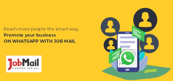 Promote Your Business On WhatsApp With Job Mail