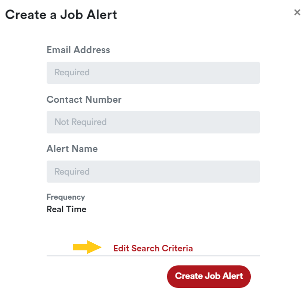 Create Alerts on Job Mail
